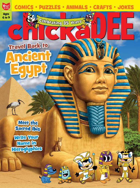 Owlkids Chickadee Magazine Owlkids