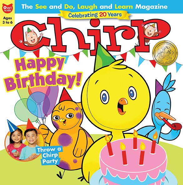 Owlkids Chirp Magazine Owlkids