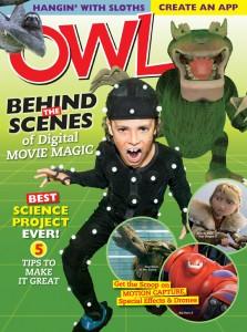 Owl Magazine November 2014 cover