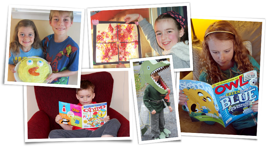 Owlkids Magazines and Readers