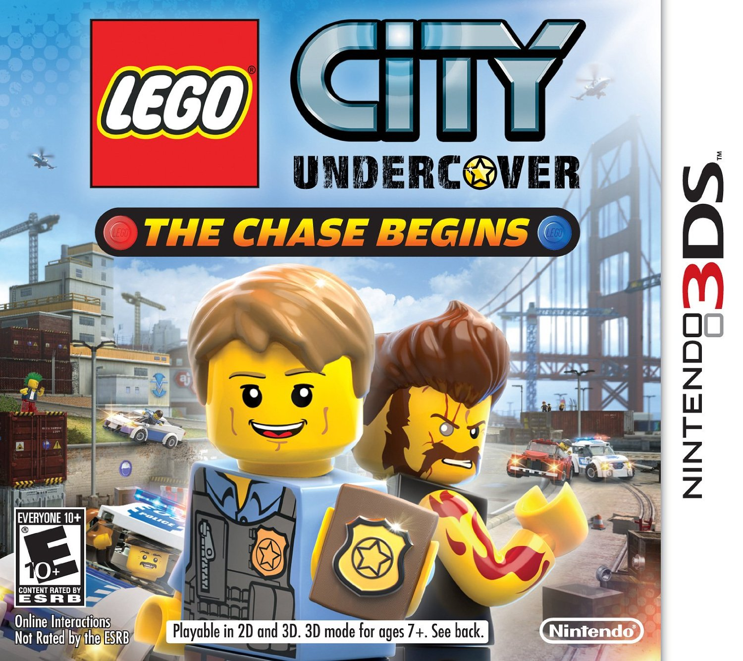 owlkids video game review lego city undercover the chase begins owlkids. Black Bedroom Furniture Sets. Home Design Ideas