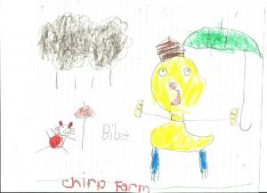 Chirp reader art
