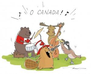 Canada Day celebration by Moru Wang