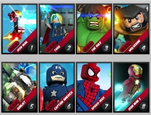 LEGO Marvel Super Hero games