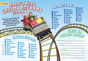 Find Your Roller Coaster Name?
