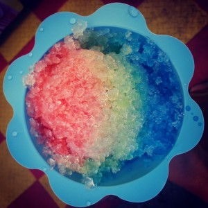 Snow Cone at Canadian National Exhibition