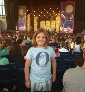 Sydney at Family Channel concert