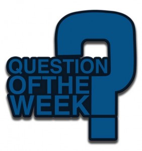 OWL magazine question of the week blue icon