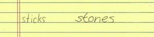Letter width