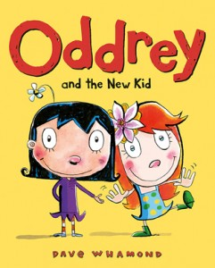 Owlkids books, dave whamond, oddrey-and-the-new-kid