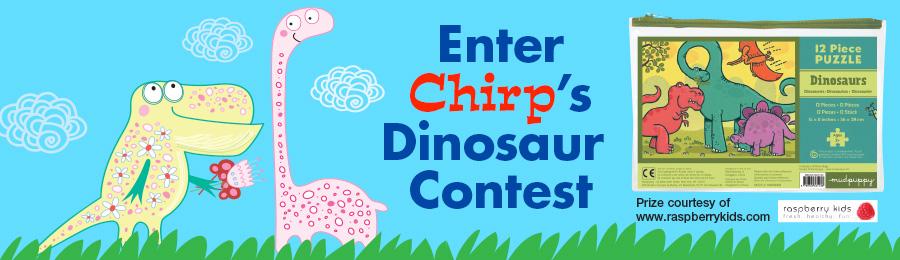 Chirp November contest header