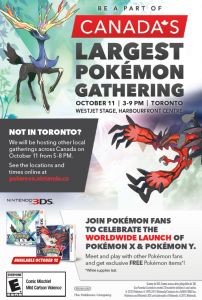 October 12, 2013 Pokemon event