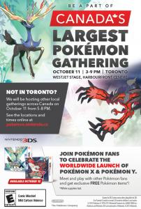 October 12, 2013 Pokemon event
