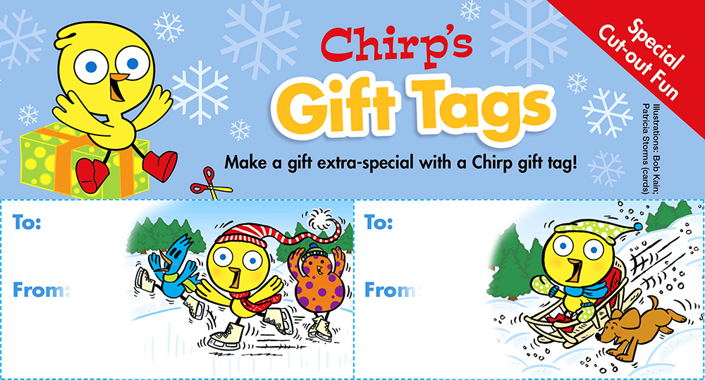 Chirp Gift Tags