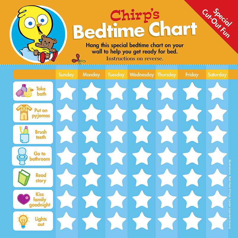 Chirp Bedtime Chart Checklist