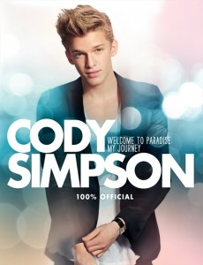 Cody Simpson: Welcome to Paradise: My Journey book cover