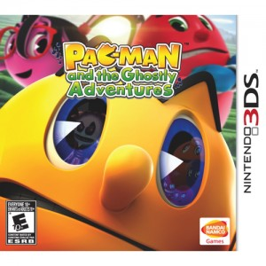 Pac-Man and the Ghostly Adventures 3DS game packshot