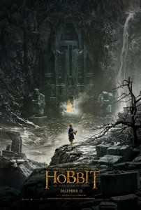 The Hobbit: The Desolatino of Smaug movie poster