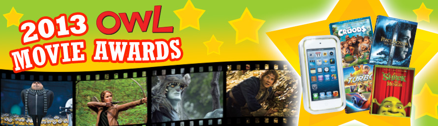 2013 OWL Movie Awards banner