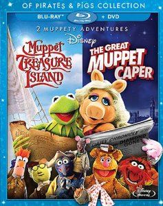 Disney's Muppet movies of Pirates and Pigs Collection