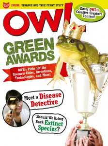 OWL Magazine April 2014 cover