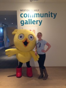 Chirp and I in the AGO Community Gallery