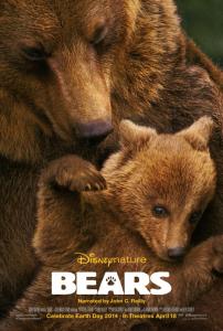 Disney Nature Bears movie poster