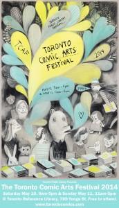 Toronto Comic Arts Festival 2014 poster