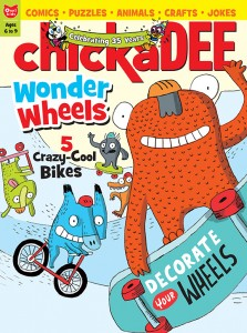 chickaDEE Magazine May Wheels Issue