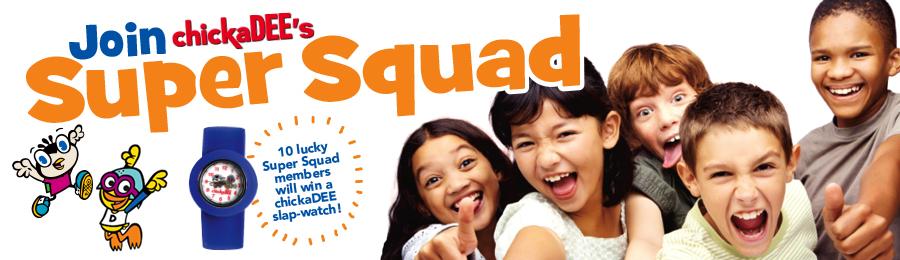 chickaDEE Magazine's May 2014 Super Squad ad