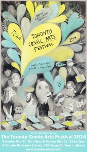 TCAF poster by Isabelle Arsenault