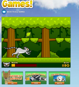 chickaDEE Magazine Play a Leapin' Lemur Game!