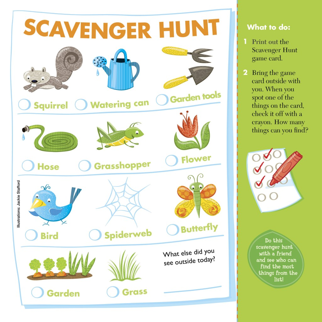 Chirp Scavenger Hunt