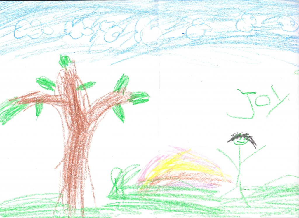 reader drawing