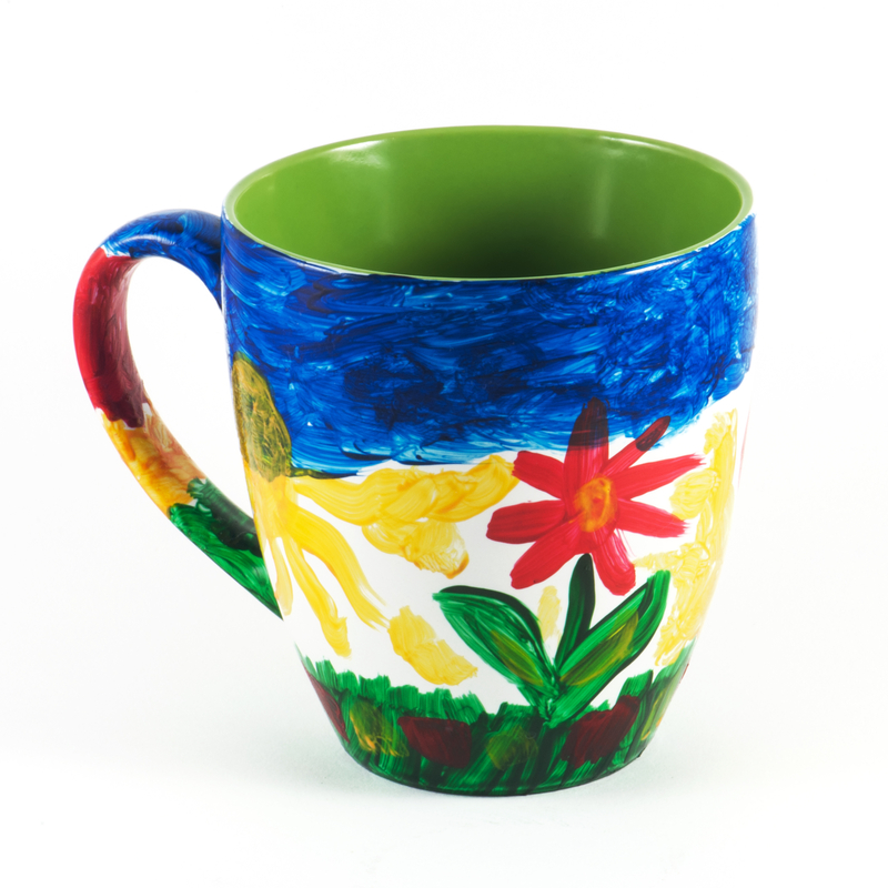 painted Father's Day Mug