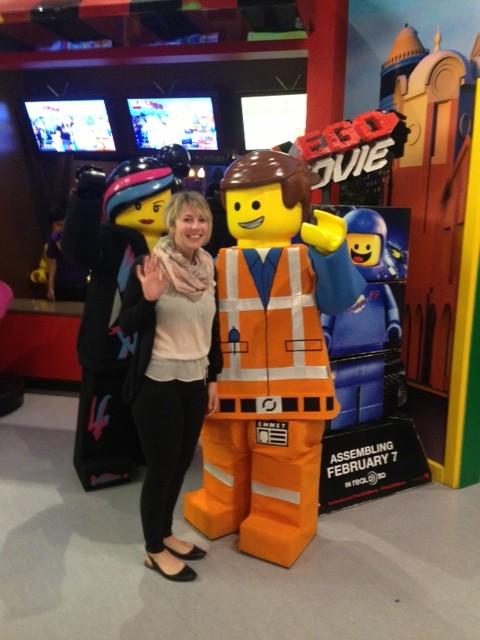 Legoland Lego mascot