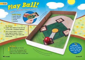 DIY baseball game