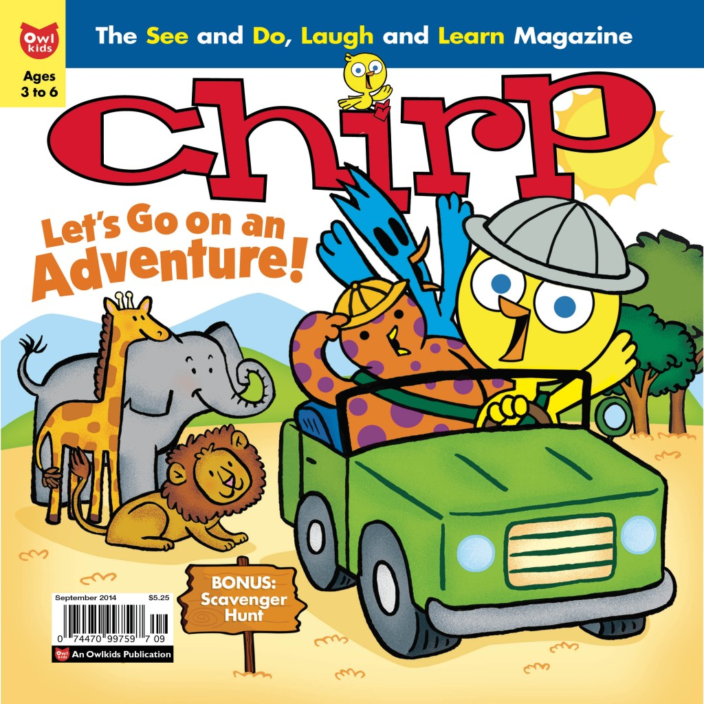 Chirp September 2014 issue