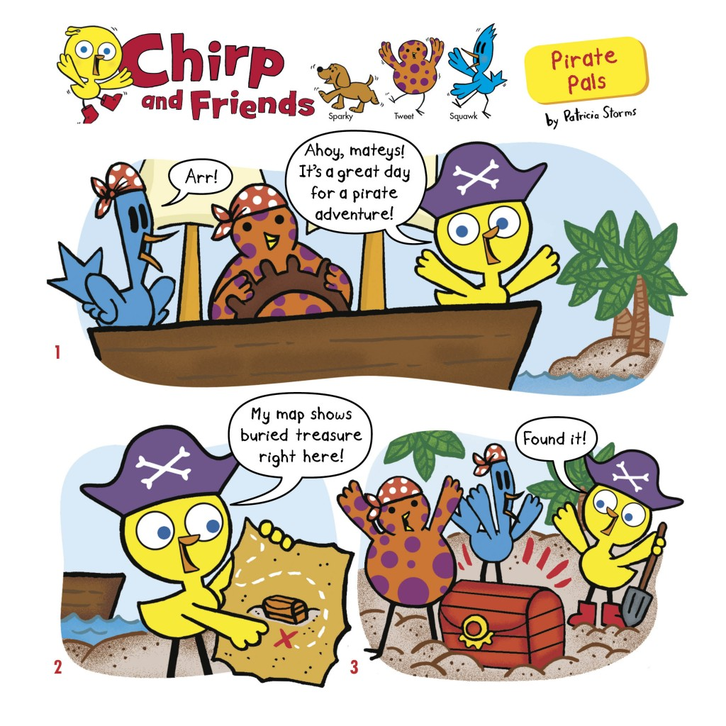 Chirp September Comic