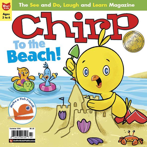 Beach Chirp Magazine Summer 2015