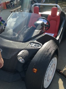 The Strati is a full-size, fully-electric, 3D printed car!