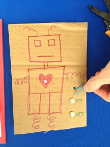World Maker Faire Robot circuit craft