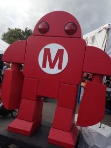 Maker Faire robot logo