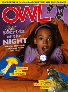 OWL Magazine October 2014 cover