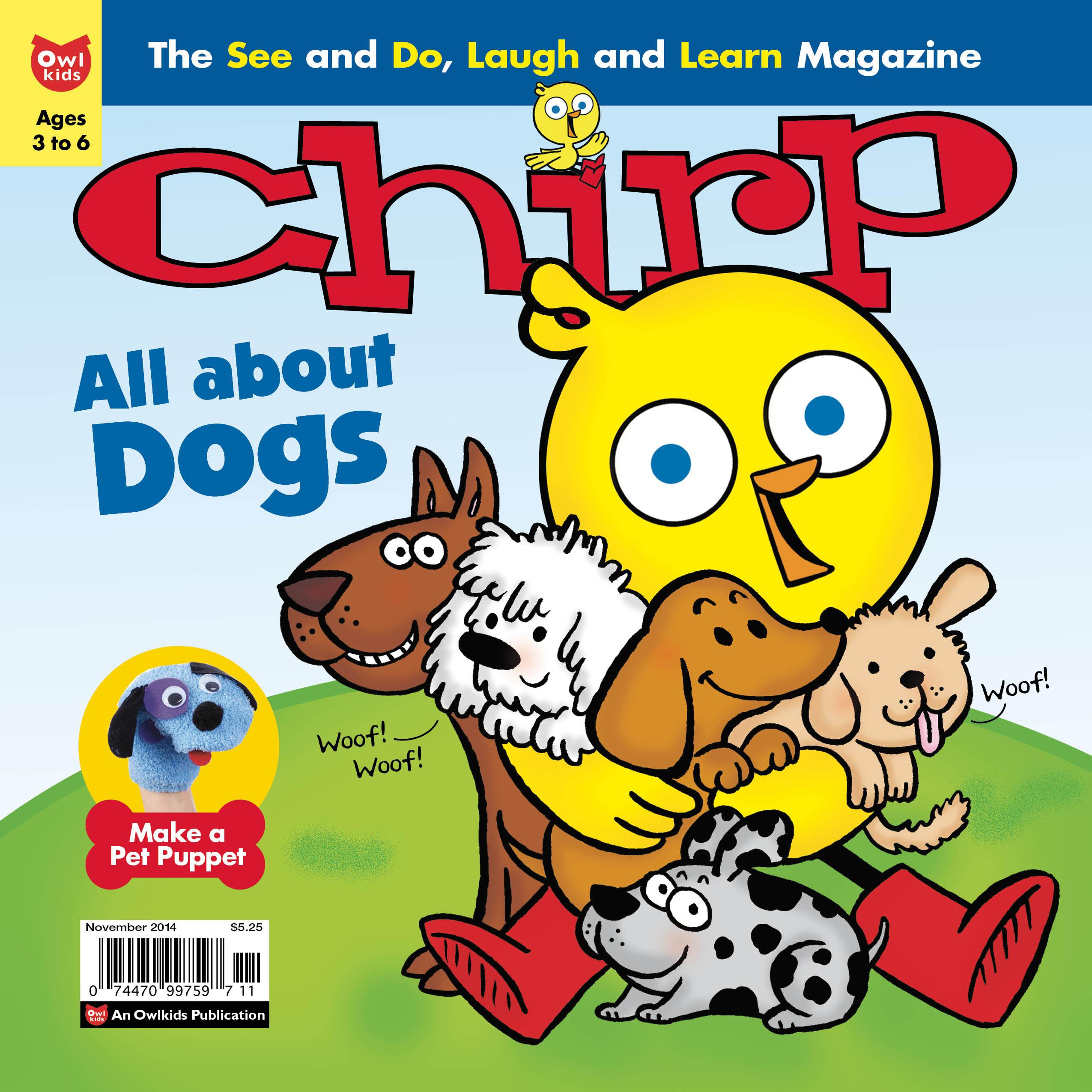 Chirp Magazine November Dogs issue