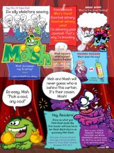 Mush's Corner Character