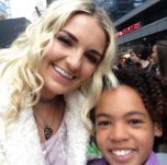 Lola and Rydel Lynch from the Band R5 - We Day Toronto