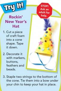 chickadee Magazine Fun New Year's Craft