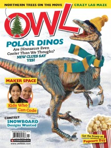 OWL Magazine Jan/Feb cover