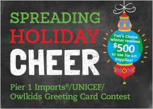 unicef greeting card